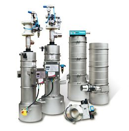 Special solutions for vacuum conveying